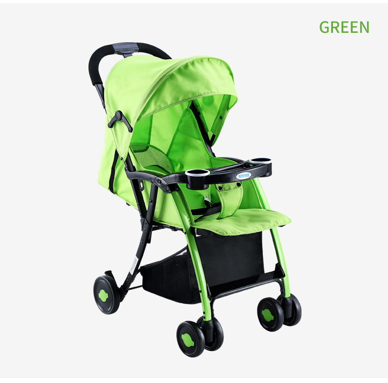 GL Baby Stroller Folding Umbrella Sit and Lie Portable Strong Alloy Steel Material 11
