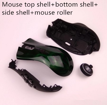 Original Mouse Shell Mouse Cover For Razer Naga Hex Edition Genuine Mouse Accessories Mouse Roller
