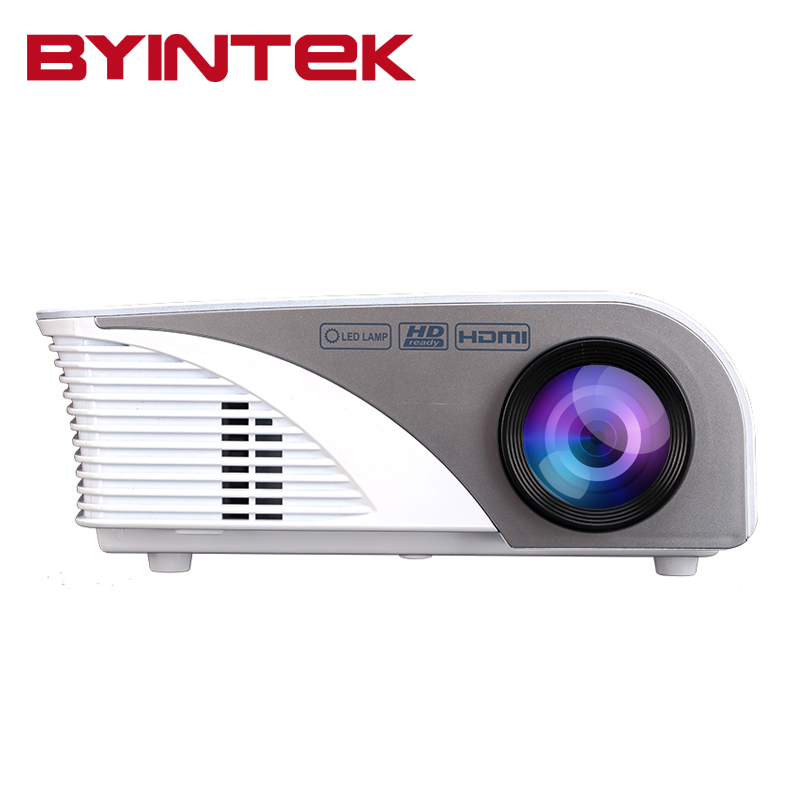 Mini projector hdmi usb byintek ml215 cheap digital hd for Small video projectors reviews