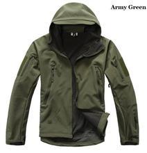 2017   jacket men High quality Lurker Shark skin Soft Shell TAD V 4.0 Military Jacket Waterproof windbreaker coat
