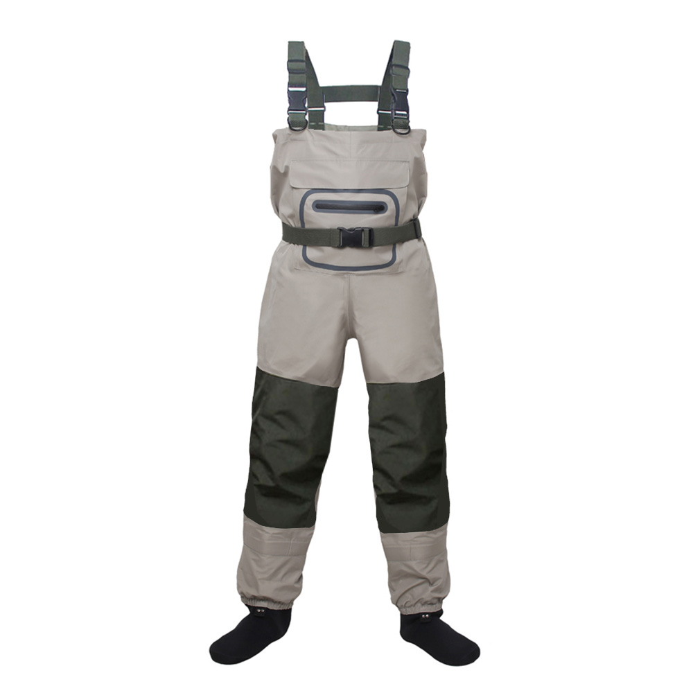 Lightweight Breathable Stockingfoot Fishing Wader Fly Fishing Chest Waders Pant For Men And Women