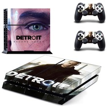 Detroit Become Human PS4 Skin Sticker Decal Cover
