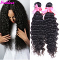 Grace hair Brazilian deep wave 4 bundle deals 6 A cheap human hair weave Brazilian hair natural black 8''-30'' 100 gram