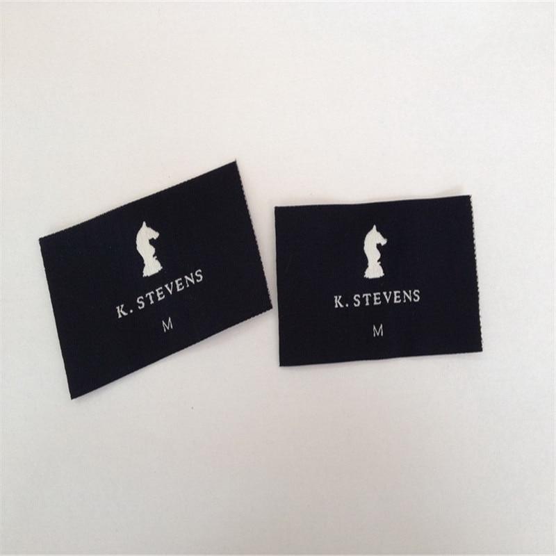 OEM Personalizado Rótulos de Vestuário/Etiquetas Tecidas Para A Roupa