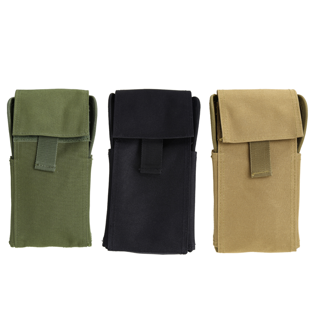 Outdoor Molle 25 Round 12GA 12 Gauge Ammo Shells Shotgun Reload Magazine Pouches Magazine Bag Hunting Ammo Bag 3 Colors