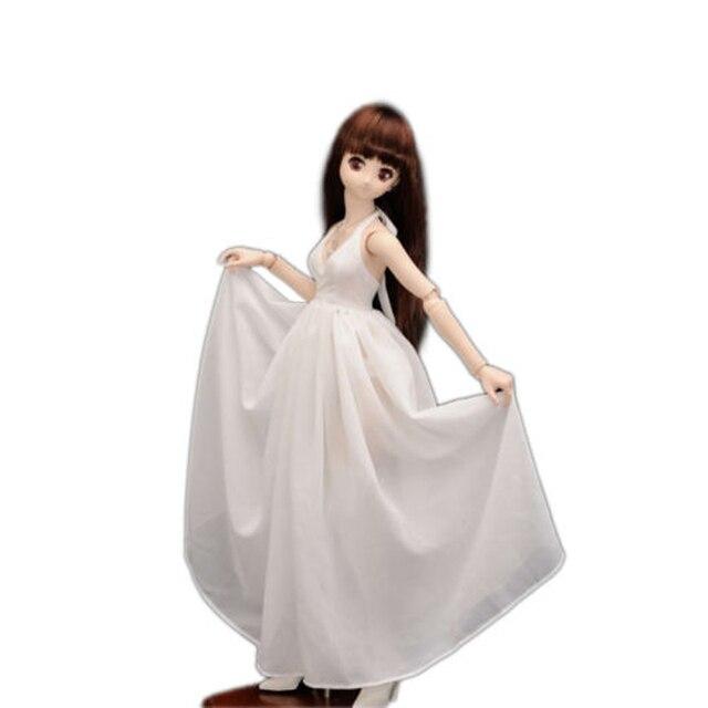 [Wamami] 1/3 Косплей Мягкие Принцесса Белый Длинное Платье/Юбка BJD SD AOD DOD КУКЛА