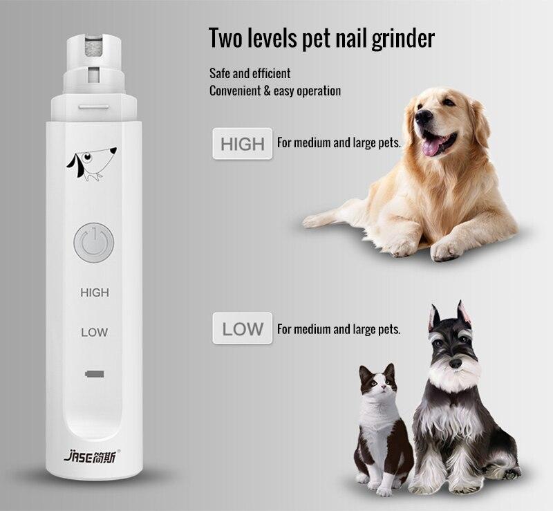 JASE 2 Levels Electric Dog Nail Grinder Professional Pet Claw Nail #2: HTB1Cr vSXXXXXaZXpXXq6xXFXXXL