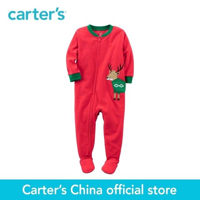 Микрофлис картера 1 шт. детские дети дети 1-кусок PJs 347G332, продавец картера Китай официальный магазин