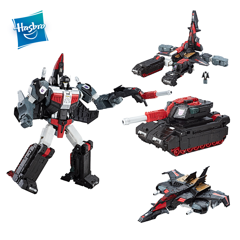 Hasbro Transformers Toys Generations Titans Return Leader Sky Shadow and Ominus Decepticons Action Figure Collection Model Dolls