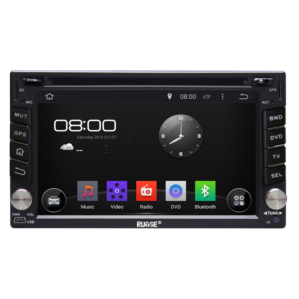 quad core android 5 1 car dvd player radio gps sat navi. Black Bedroom Furniture Sets. Home Design Ideas