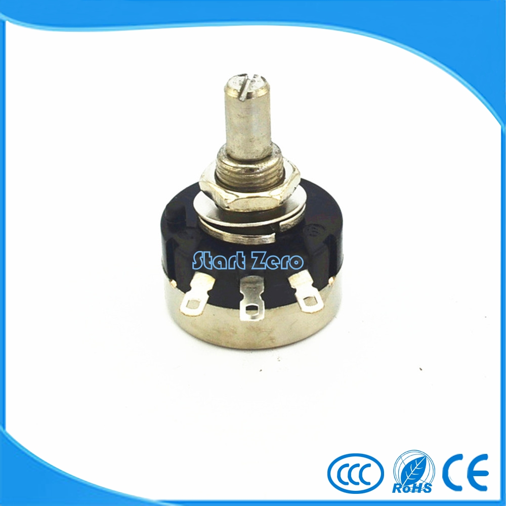 1PCS RV24YN 20S B204 Single Turn Cosmos Tocos Potentiometer 200R 500R 1K 2K 5K 10K 20K 50K 100K 200K 500K 1M Ohm dimarzio custom taper potentiometer 500k ep1201