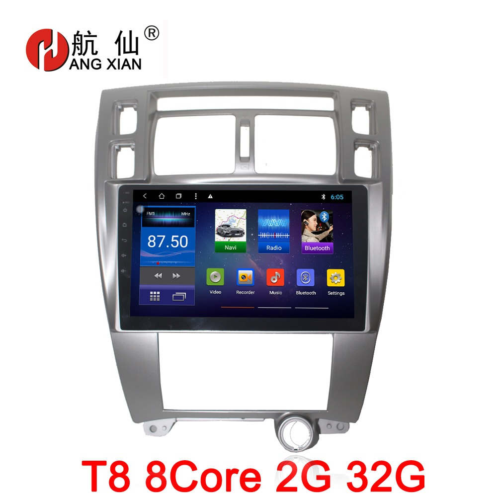 Bway 10 2 2 din Car radio for Hyundai Tucson 2006 2014 octa 8core Android 8