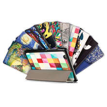 (Slim Fit) (Stand Feature) Folio Flip PU Leather Hybrid Print Case Cover Skin for Huawei MediaPad M3 8.0 Octa Core 8.4″ Tablet