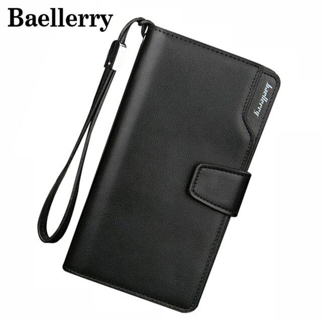 34869991ac25 мужские кошельки Baellerry кожаный мужской кошелек модный кошелек