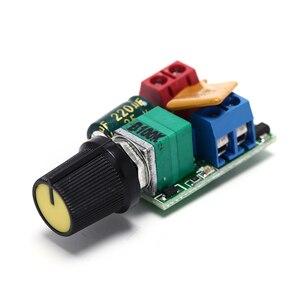 O mini controlador 90w 5a da velocidade do motor da c.c. pwm do controlador de velocidade conduziu o dimmer 3v 6v 12v 24v 35vdc