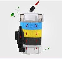 Sunsun ультра-тихий Внешний Аквариум фильтр ведро Внешний канистра фильтр 6 Вт/HW-602B/HW-603B 220 В