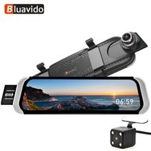 """4G FHD 1080 P Dell'automobile DVR 10 """"vista Posteriore specchio android GPS Navi WiFi auto di video registrator Registratore con la macchina fotografica d'inversione di Visione Notturna"""