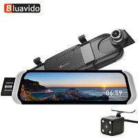 4G FHD 1080P Car DVR 10 Rear view mirror android GPS Navi WiFi auto video registrator Recorder with reverse camera Night Vision