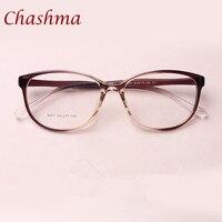チャシュマブランドtr 90猫目黒茶色ワイン赤眼鏡新鮮な近視眼鏡学生ファッション処方メガネフレー