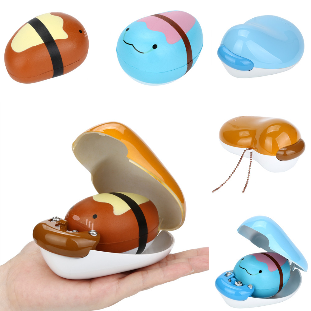 Cute Pea Box Slow Rising Collection Squeeze Stress Reliever Toy Squashy Poopsie Slime Surprise Stress Relief Toys W520