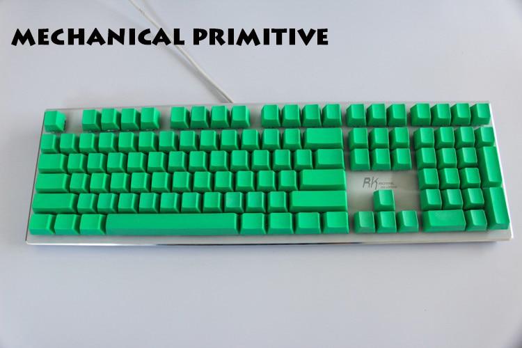 MP 108 Ключи сгущают PBT Зеленый Пустой - Компьютерная периферия