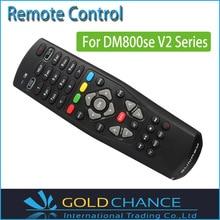 5 unids/lote Dm800se V2 Control remoto para Dm800 sí serie V2 receptor de satélite negro Color de envío gratis