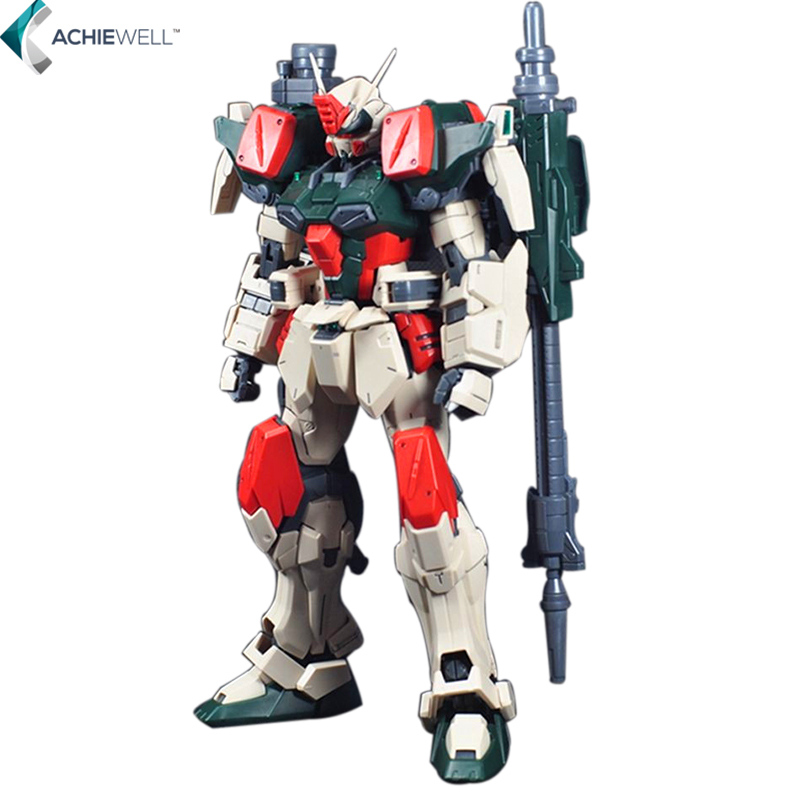 ФОТО New Gundam 1:100 MG Model Buster Fighter Storm Machine Robot Action Figure Assembled Toys Anime Character Kids Gift