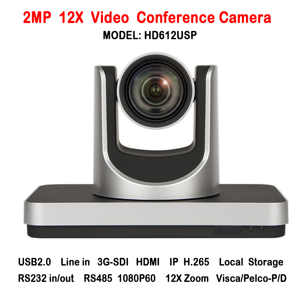 2MP 1080p 3G-SDI IP HDMI networking 12x zoom audio video conference camera with RS232 RS485 Data for meeting room system chat ikecix u12x 2m 12x zoom usb 1080p video conference camera microphone