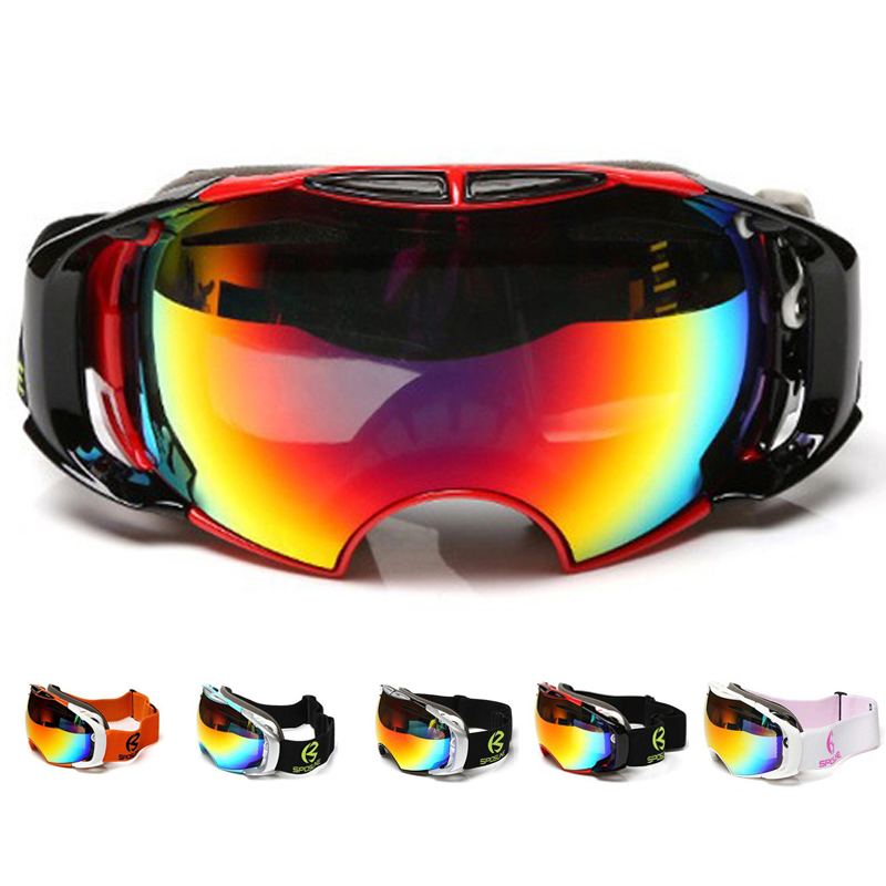Snowboard Ski Goggles Anti-fog Double Lens Motocross Ski Glasses UV400 For Men & Women Professional Skiing Glasses Snow Goggles
