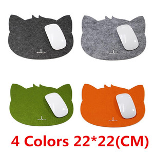 1PC Mouse Pad Hot Cat Shape Picture Anti-Slip Laptop PC Mice Pad Mat Mousepad for Computer Game Optical Mouse Tools Accessories