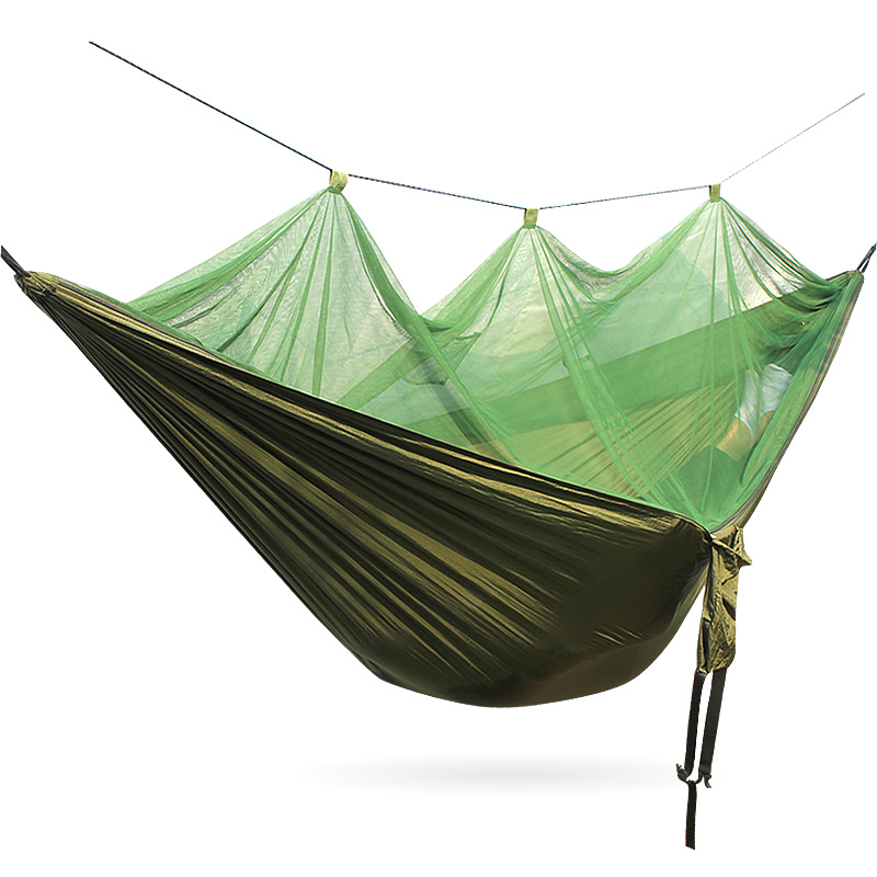 Mosquito Net Outdoor Camping Support Hamac Portable Outdoor Hammock