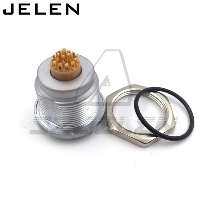 SZJELENE connector 19 pin socket, EGG.2K.319.CLL. Waterproof metal circular 19-pin connector sxjelen 2k connector 16 pin fgg 2k 316 clad z egg 2k 316 cll 2k 16pin connector ip68 waterproof male and female connector