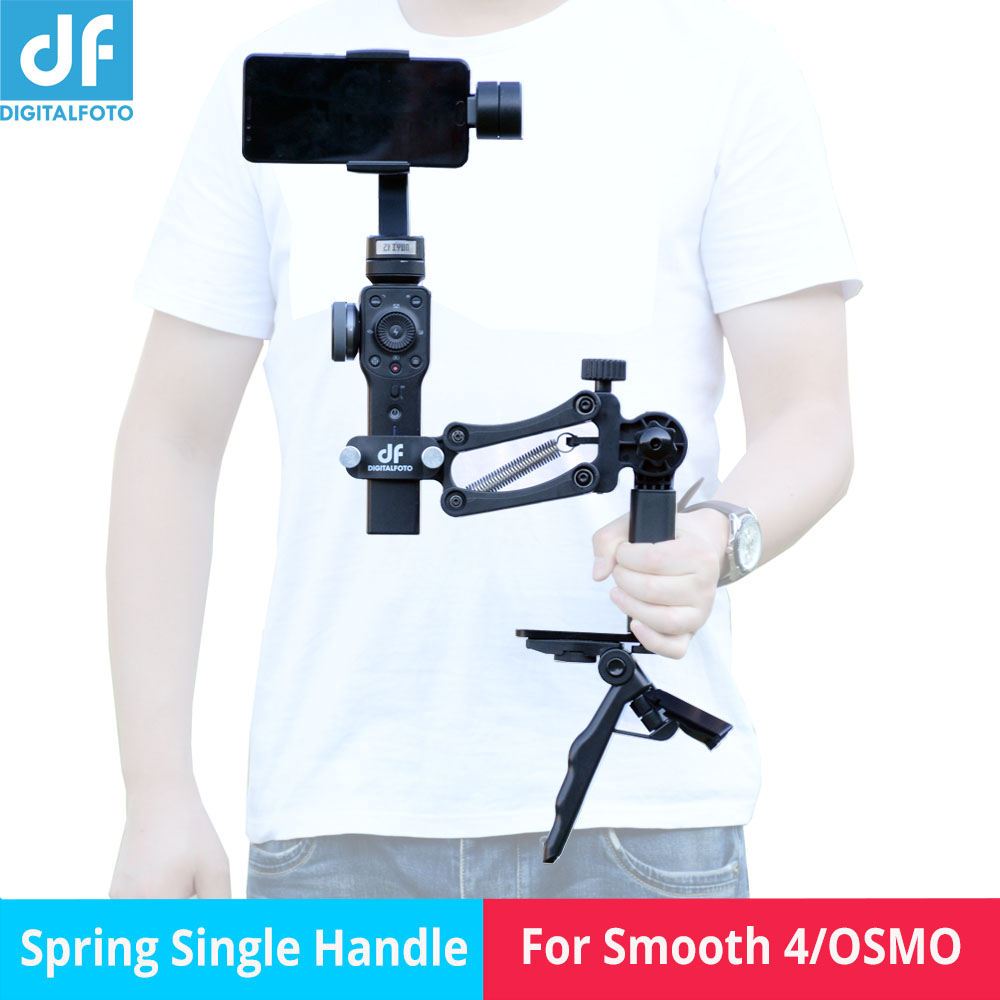 4th axis stabilizer for osmo pocket Damping Spring Single handle 4th Z axis Bracket for Smooth Q 4/OSMO Mobile 24th axis stabilizer for osmo pocket Damping Spring Single handle 4th Z axis Bracket for Smooth Q 4/OSMO Mobile 2
