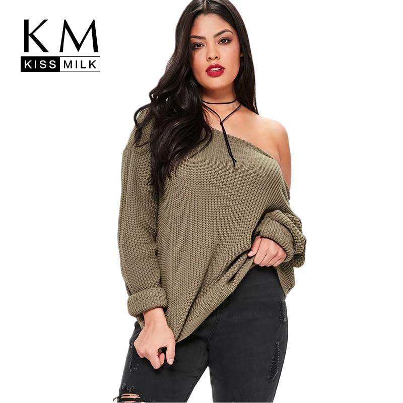 Kissmilk 2018 Big Size New Fashion Women Clothing Casual -9665