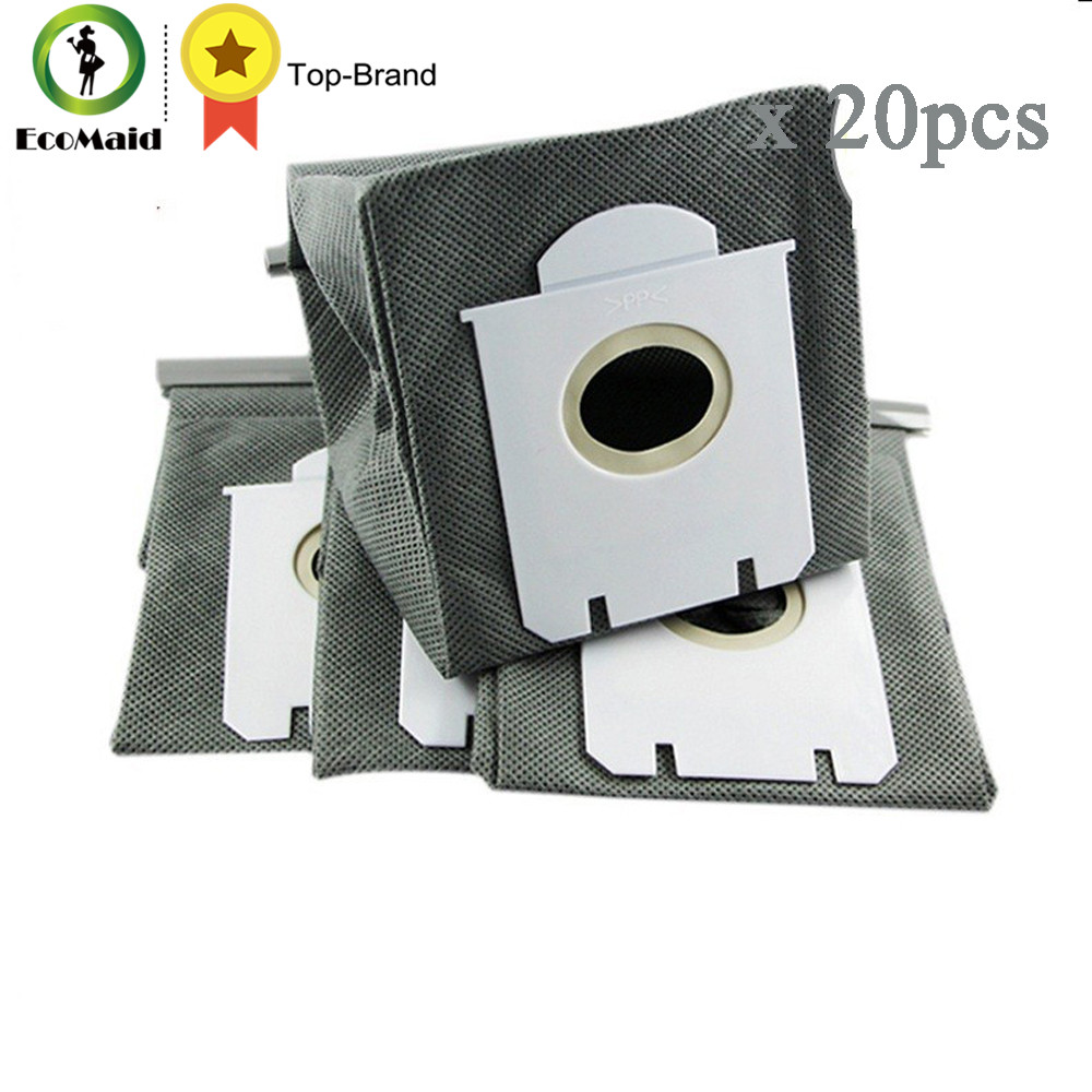 hight resolution of dust bag for philips electrolux vacuum cleaner fc8202 fc8392 fc8420 washable cleaning spare part reusable bag replacement 20pcs in vacuum cleaner parts from