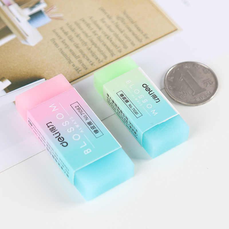 Süßigkeiten Gradienten Radiergummi Weiche Durable Flexible Cube Nette Farbige Bleistift Radiergummis für Schule Kinder Jelly Farbigen Bleistift Radiergummis