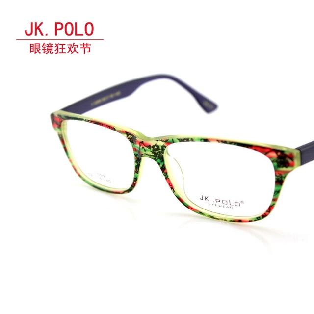 e97e0c2fadb2 Free shipping Jk polo glasses men s eyeglasses frame large box frame Women  myopia casual clothing