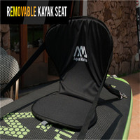 Mejor Envío gratuito Aquamarina inflable stand up paddle Junta Kayak barco del Asiento desmontable