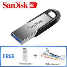 SanDisk USB 3.0 Pendrive 32GB Flash Drive 16GB Pen Drive 64GB USB Memory Stick 128GB SDCZ73 Speed Up To 150MB/S Original Genuine