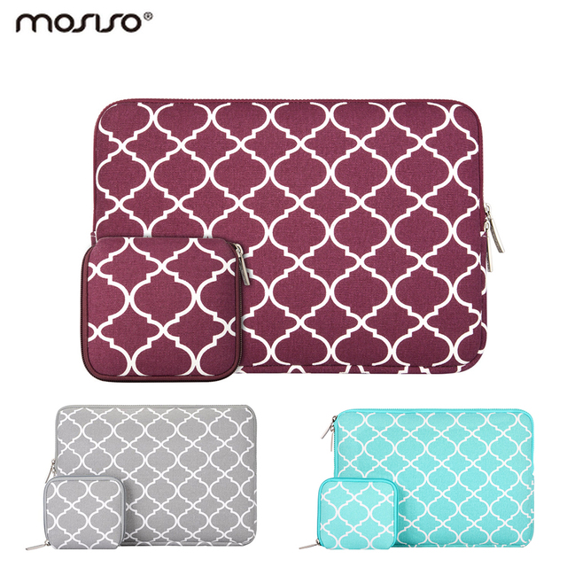 Mosiso 11.6 13.3 15.6 polegada Laptop Sleeve Saco Notebook Bolsa caso para macbook air pro 11 12 13 15 asus acer
