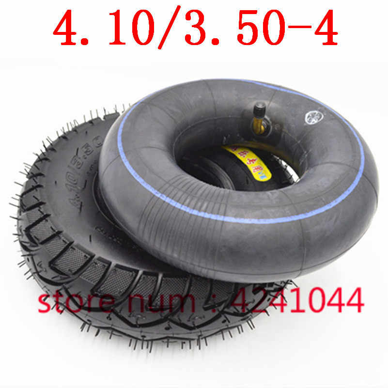 4.10/3.50-4 tyres 4.10-4  3.50-4 tires and inner tube fit electric tricycle, trolley,Electric scooter,warehouse car 10 inch pneu