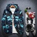 YG6168-1 Barato al por mayor 2016 nueva capa de la chaqueta de Camuflaje masculino marea chaquetas con capucha carácter clase viento cultiva su moralidad