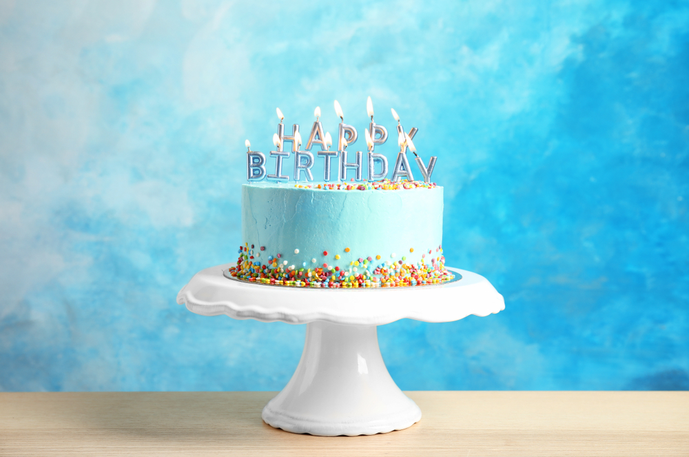 Stupendous Life Magic Box Birthday Backdrop Baby Blue Photographic Background Personalised Birthday Cards Paralily Jamesorg