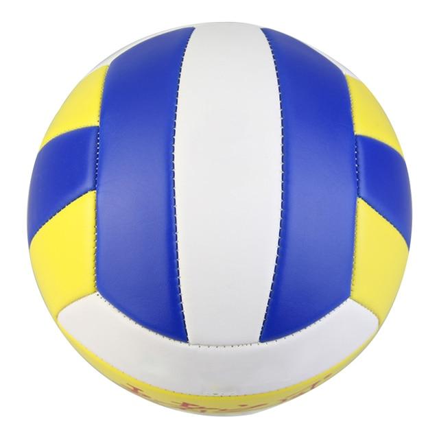 2017 Nuevo tamaño 5 pelota de voleibol de PU pelota de playa partido pelota de entrenamiento al aire libre para interiores envío gratis