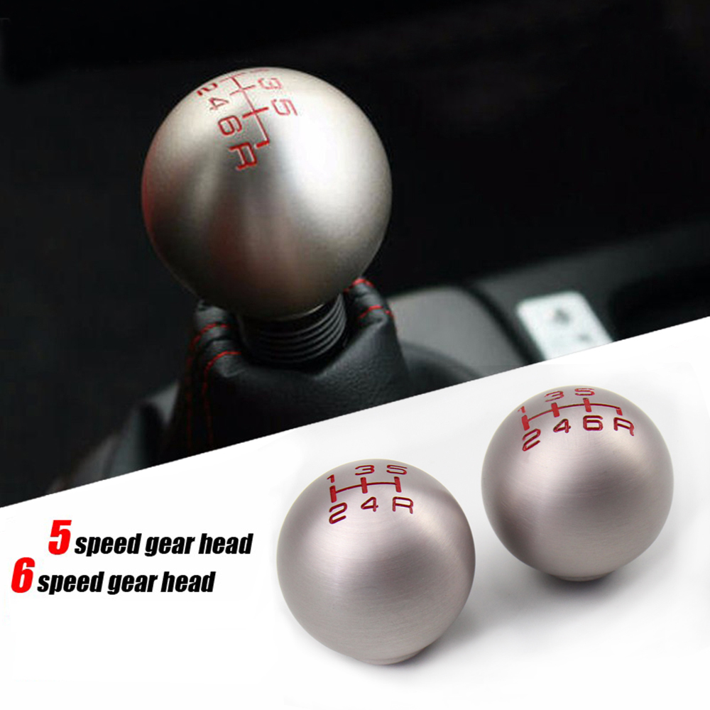 Aluminum 6 Speed Manual Transmission Gear Shift Knob for Honda Civic Mugen Gear Knob