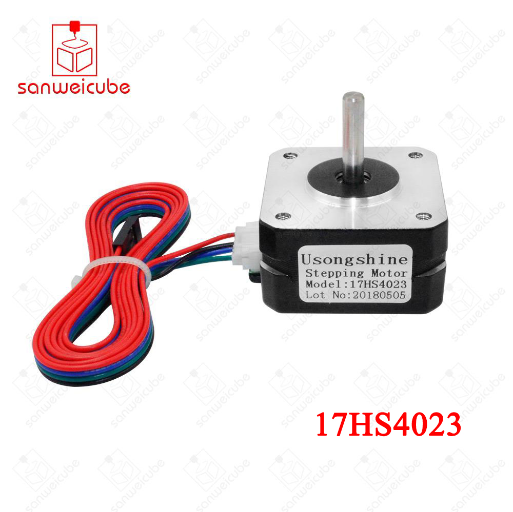1pcs Titan Extruder 17HS4023 Nema 17 Stepper Motor 4-lead 22mm 42 motor 3D printer for J-head bowden Nema 17 Titan Extruder 3d printer parts tevo black widow titan step motor for titan extruder 3d printer extruder 42 42 23mm for j head bowden