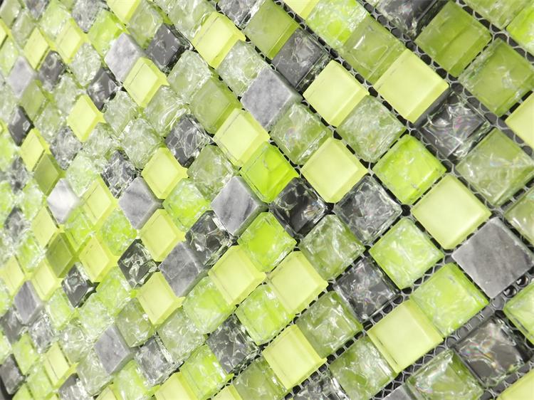 տան բարելավում, կանաչ սառցե ճաքճքված - Տնային դեկոր - Լուսանկար 4