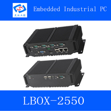 high quality industrial computer SSD 32Gb with Wifi Module Fanless embedded industrial mini pc