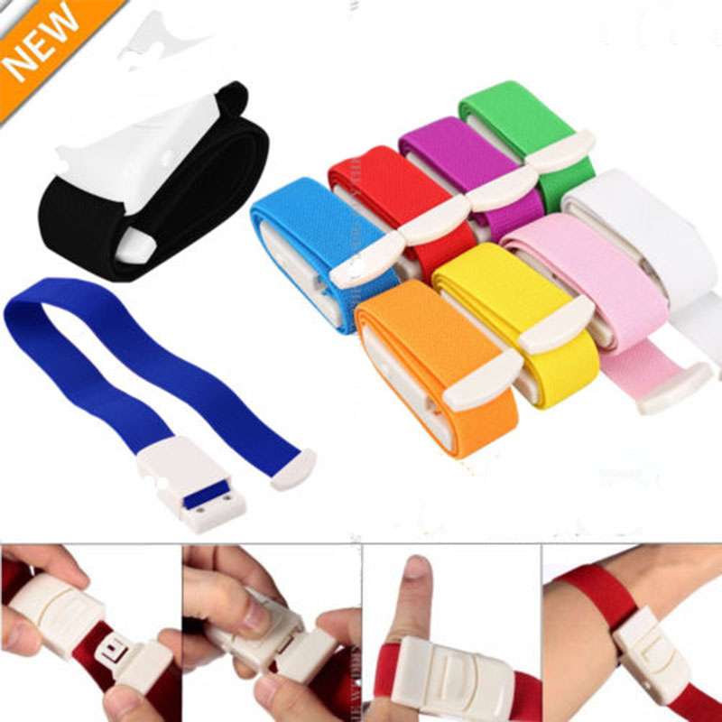 Quick Slow Release Medical Paramedic Sport Emergency Tourniquet Buckle 2.5*40cm Plastic ABS Tourniquet Free Shipping