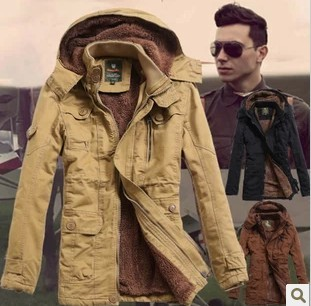 New 2014 Winter Men'S Cashmere Frock Coat Long Slim parka men winter Hooded Cotton Padded winter jacket men Free Shipping H1284 картленд барбара звездное небо гонконга